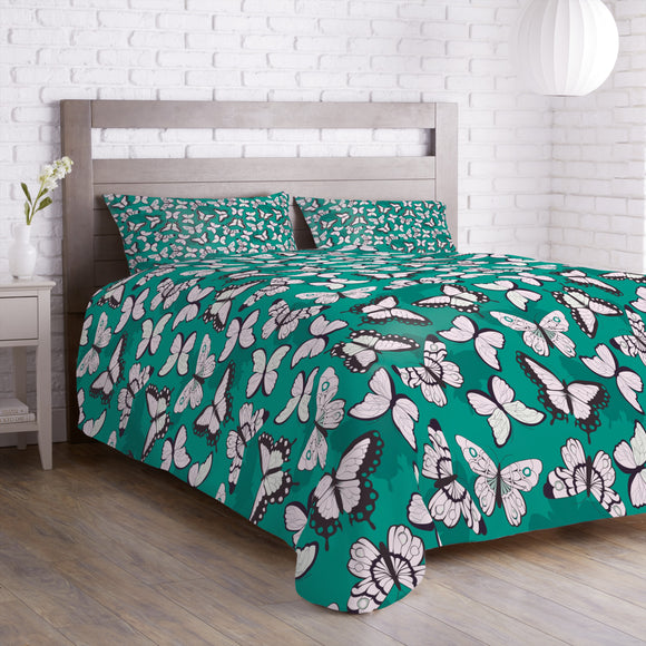 Bright Butterflies Duvet