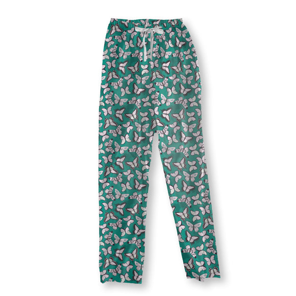 Bright Butterflies Pajama Pants