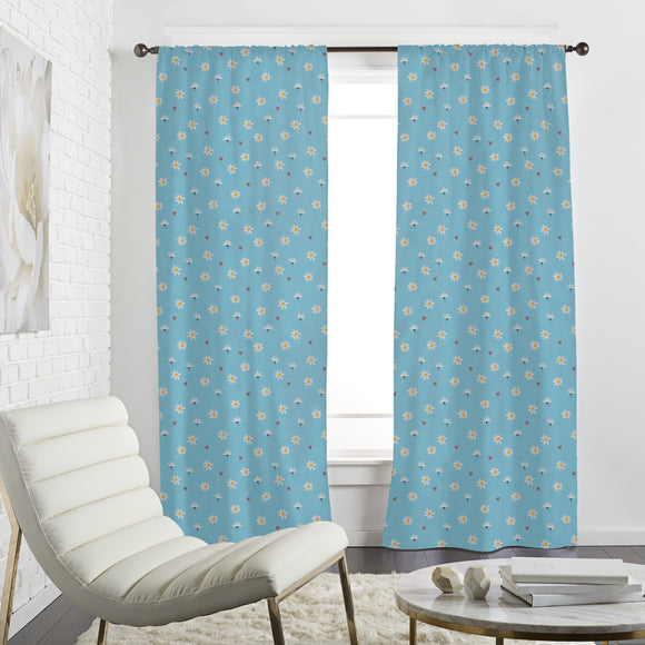 Sugared Daisies Curtains