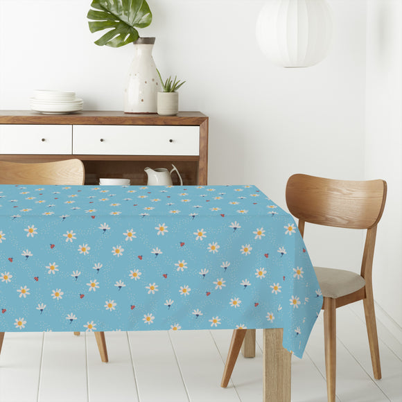 Sugared Daisies Rectangle Tablecloths