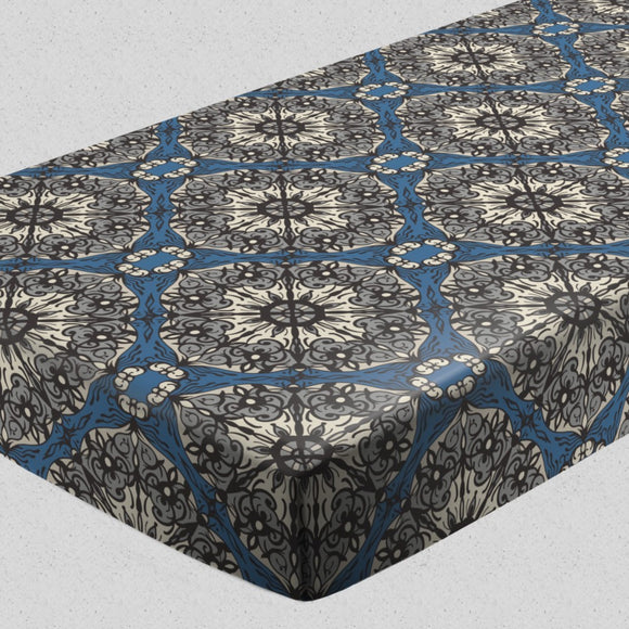 Abstract Mandala Fitted Sheets