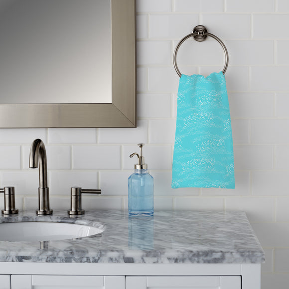 Sparks on water Hand Towel