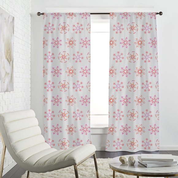 Wildflower Wreaths Curtains