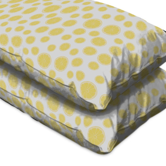 Healthy Lemon Slices Pillow Case