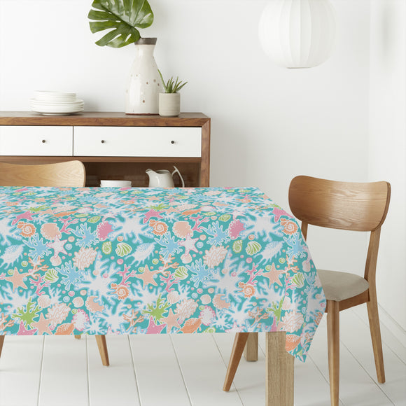 Underwater Lifestyle Rectangle Tablecloths