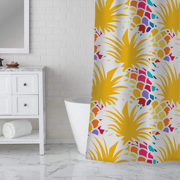 Happy Fruit Day Shower Curtain