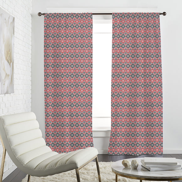 Eastern Squares Curtains