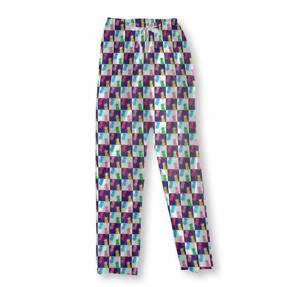 Day And Night Pineapples Pajama Pants