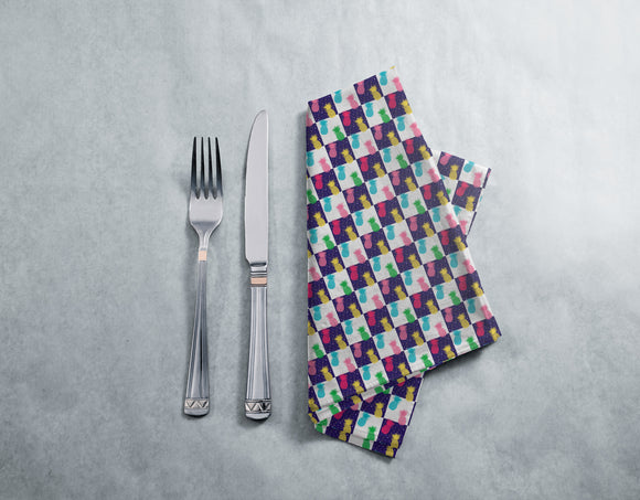 Day And Night Pineapples Napkins