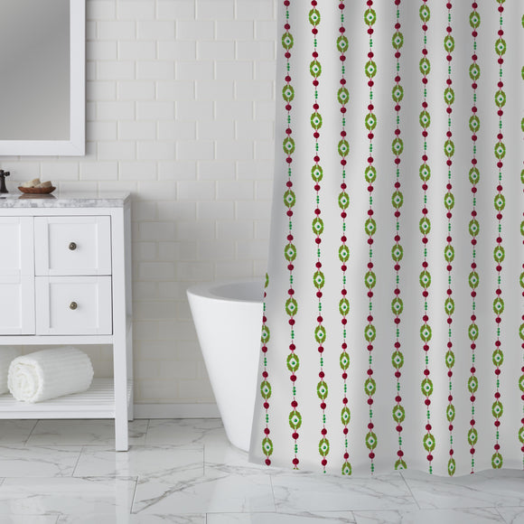 Beets Chain Shower Curtain