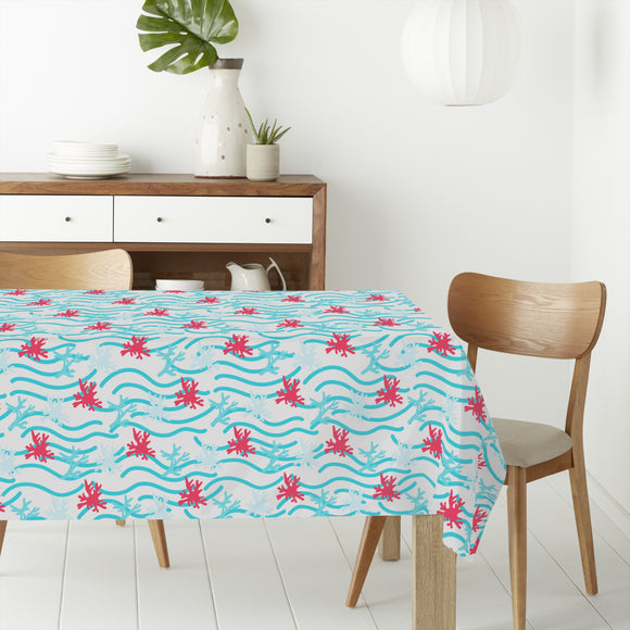Coral Reef Rectangle Tablecloths