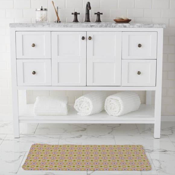 Cute Retro Bathroom Rug
