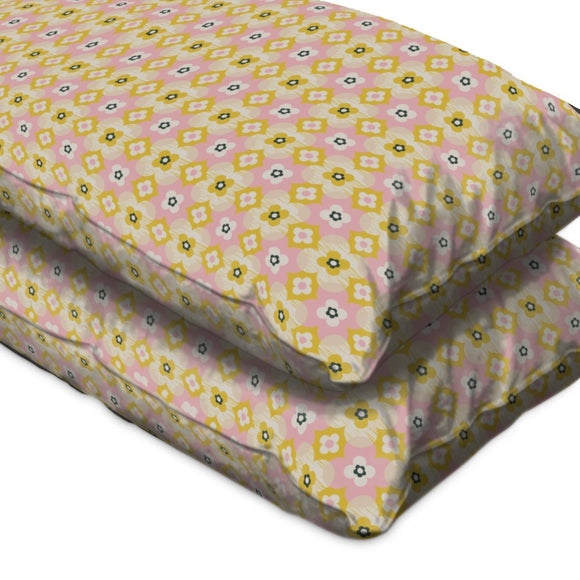 Cute Retro Pillow Case