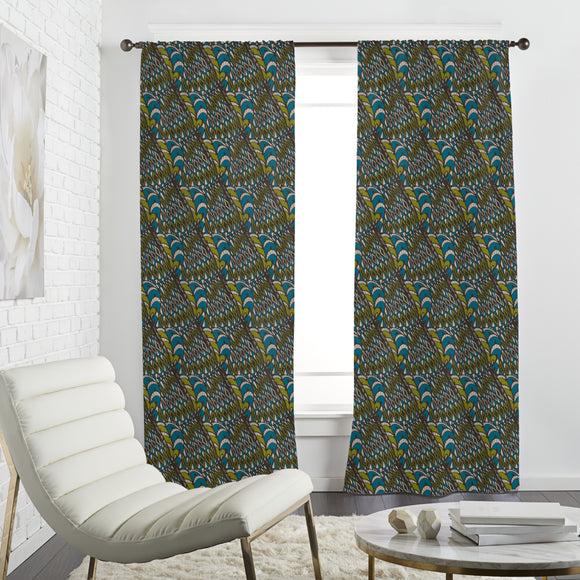 Seventies Mix Curtains