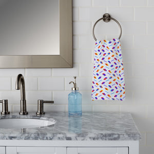 3D Fish Game Hand Towel
