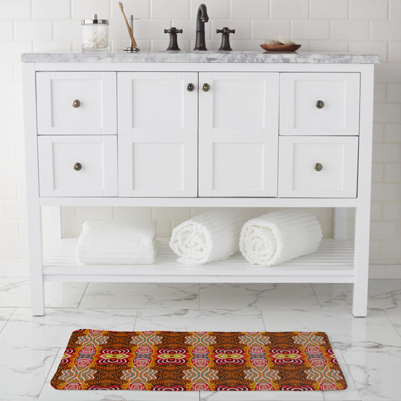 Woodcut Dream Bathroom Rug