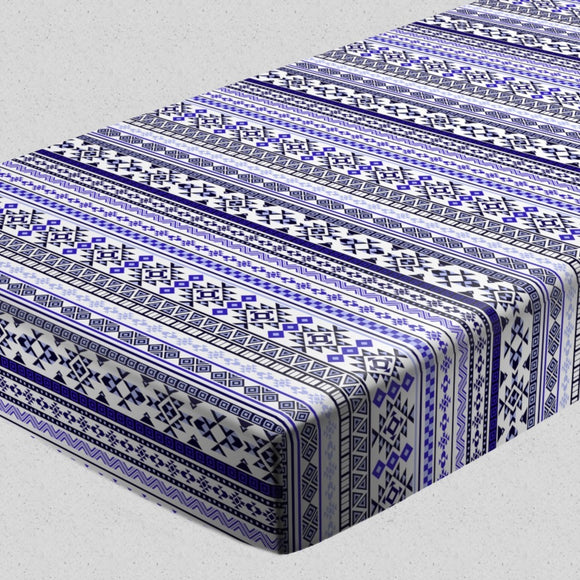 Ethnic Bordure Fitted Sheets
