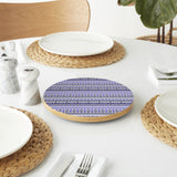 Ethnic Bordure Lazy Susan