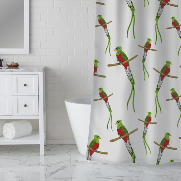 Many Quesals Shower Curtain