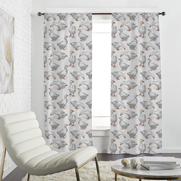 Many Geese Curtains