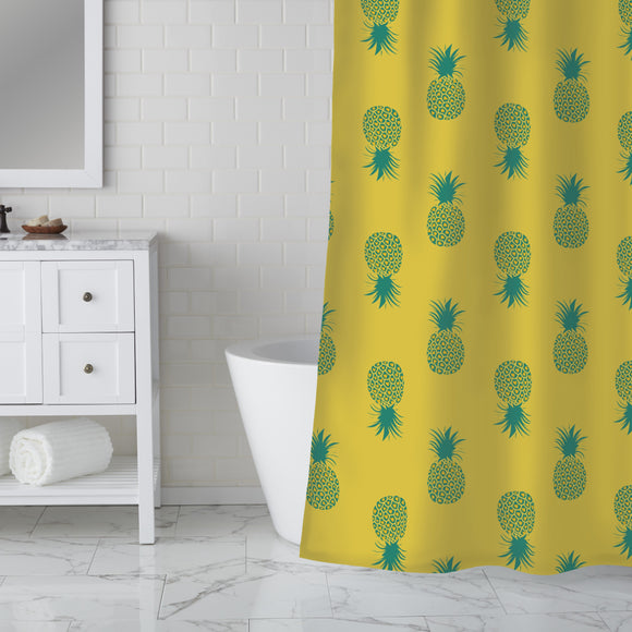 Sunkissed Pineapples Shower Curtain