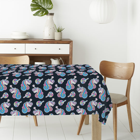 Fantastical Unicorns Rectangle Tablecloths