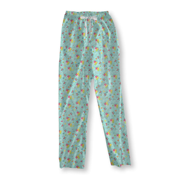 Presents And Butterflies Pajama Pants