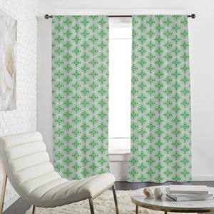 Swirled Ornaments Curtains