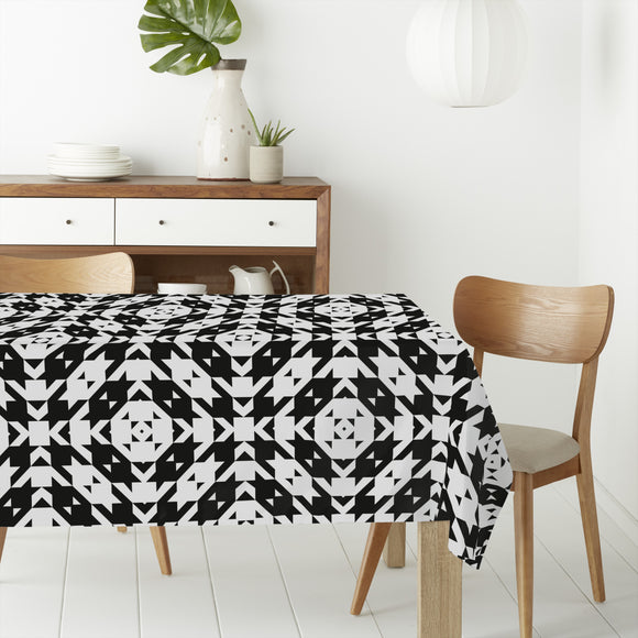 Houndstooth Tile Rectangle Tablecloths