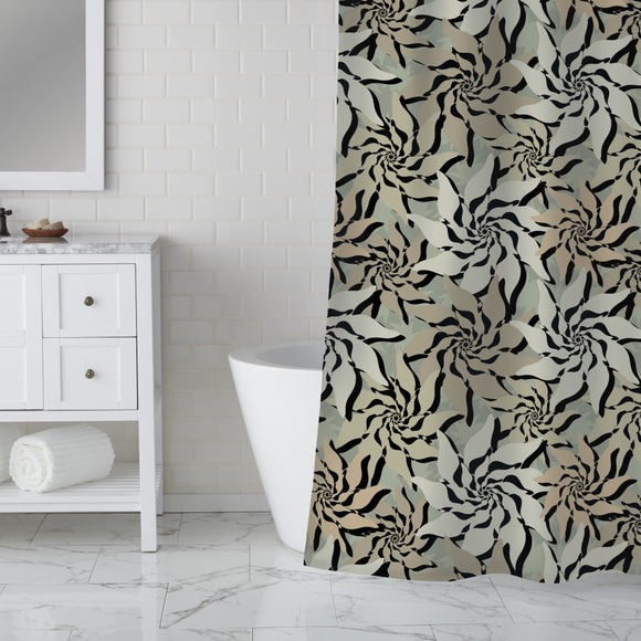 Flowers Of The North Shower Curtain