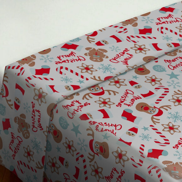 Christmas with Elks Duvet