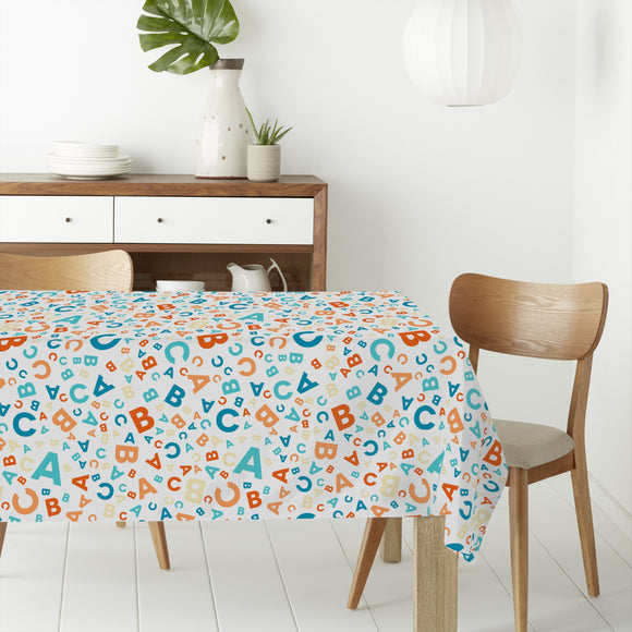 Back to school - ABC Rectangle Tablecloths