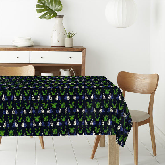 Pearlhyacinth-Couple Rectangle Tablecloths