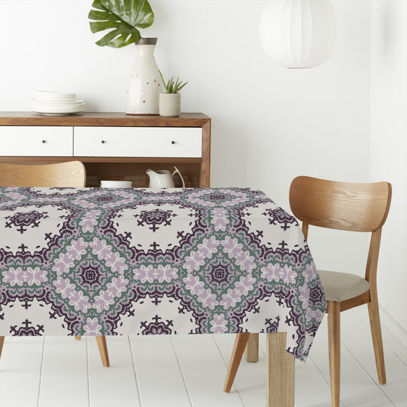 Oriental Blossom Rectangle Tablecloths