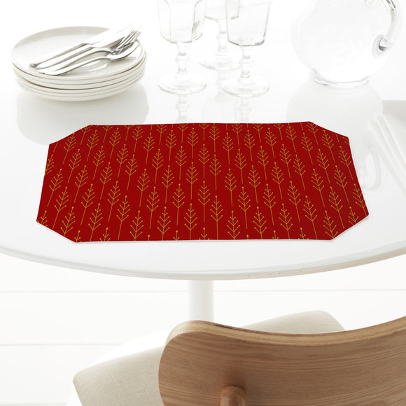 Abstract Christmas Trees  Placemats