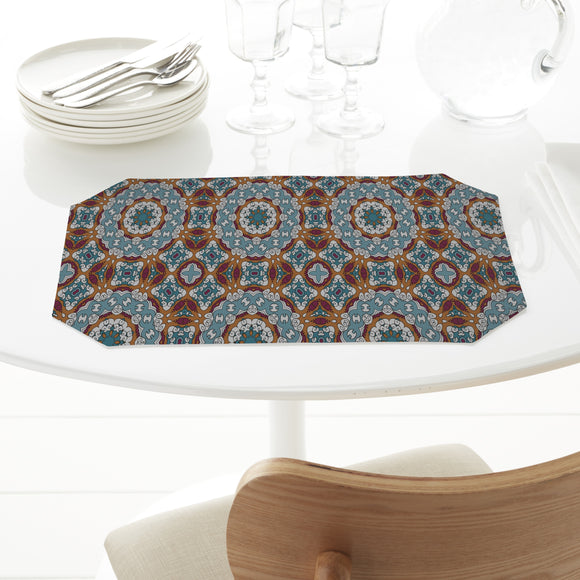 Around a Circle Rectangle Tablecloths