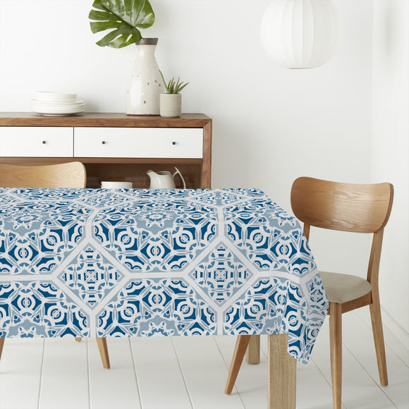 Tesselation Work Rectangle Tablecloths