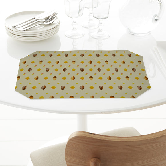 Acorns And Oak Leaves Placemats
