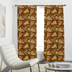 Pizza Heaven Curtains