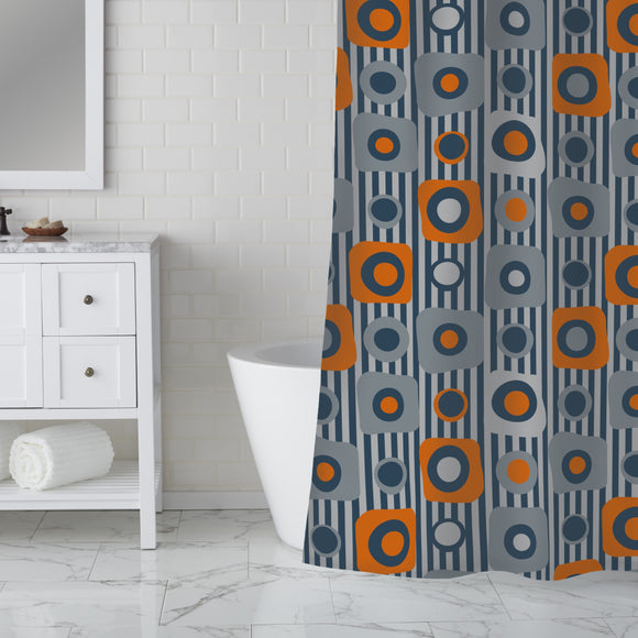 Little Squares Shower Curtain