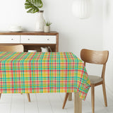 Summer Plaid Rectangle Tablecloths