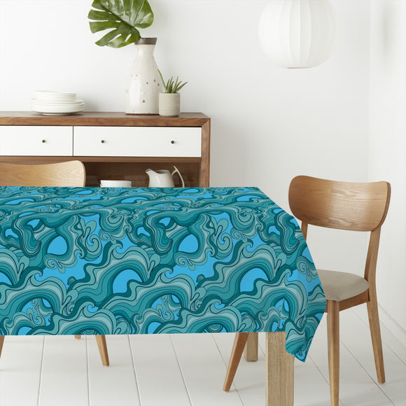 Sea Reef Rectangle Tablecloths