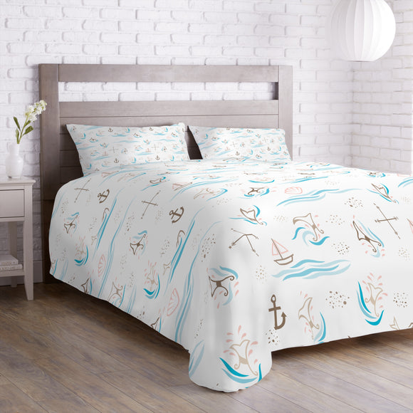 Whale Watching Duvet