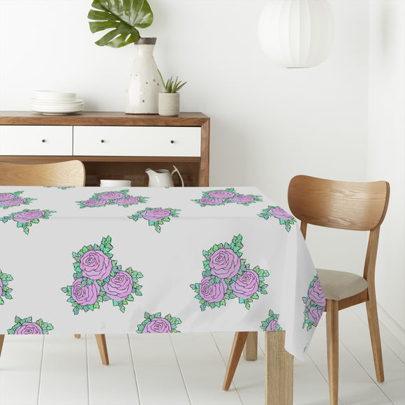 Bouquets Of Roses Rectangle Tablecloths