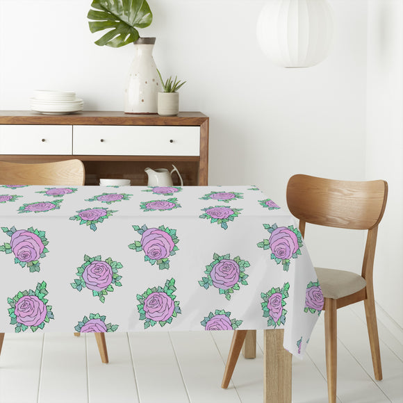 Rose Mood Rectangle Tablecloths