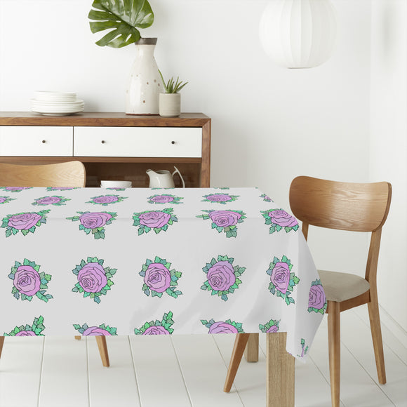 Rose March Rectangle Tablecloths