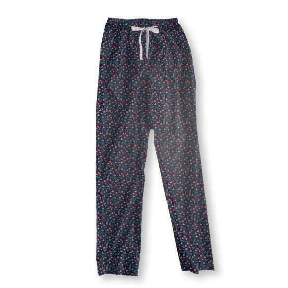 Floral Summer Night Pajama Pants