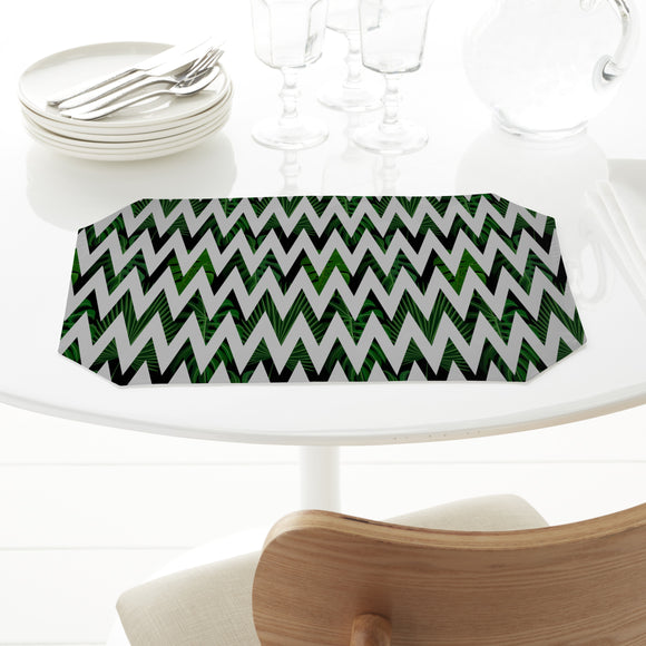 Zig zag Palm Leaves Placemats