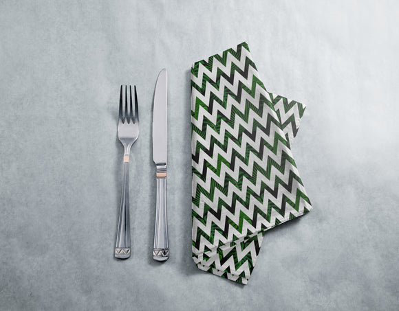 Zig zag Palm Leaves Napkins