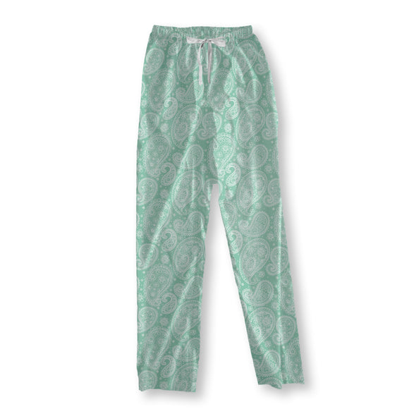 Summer Paisley Pajama Pants